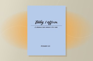 Today I Affirm guided journal for healing