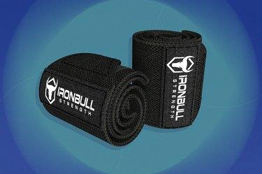 Iron Bull Strength Wrist Wraps
