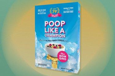 Poop Like a Champion Ultra Fiber gluten-free Cereal
