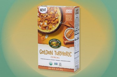 Nature's Path Golden Turmeric gluten-free Cereal