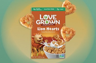 Love Grown Lion Hearts gluten-free Cereal