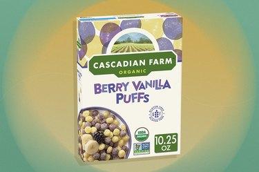Cascadian Farm Organic Gluten-Free Berry Vanilla gluten-free Puffs