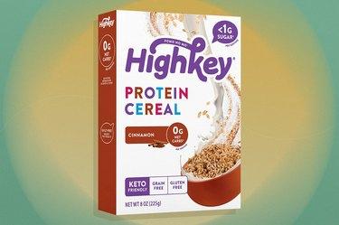 HighKey Cinnamon Keto Protein gluten-free Cereal