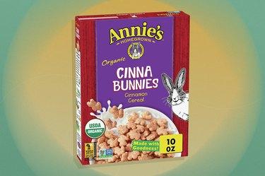 Annie's Homegrown Organic Cinna Bunnies Cinnamon gluten-free Cereal