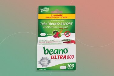Beano digestive enzyme supplement