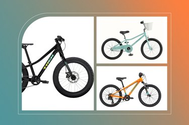 collage of the best bikes for 6-year-old kids