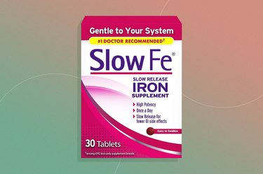 Slow Fe Slow Release Iron Supplement