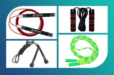 Different types of jump ropes.