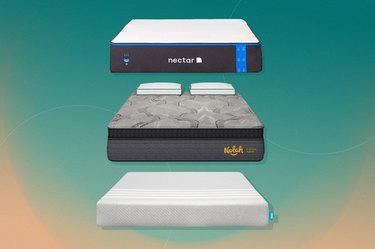 Three mattresses for neck and back pain