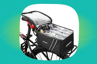 ERRLANER Bicycle Rack Rear Carrier Bag Insulated Trunk Cooler
