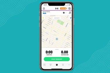 MapMyWalk is the best free pedometer app