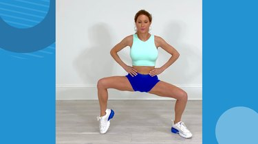 Move 1: Inner-Thigh Squat Hold
