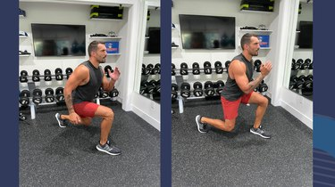 Move 3: Lunge Jump