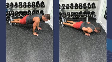 Move 2: Triceps Push-Up