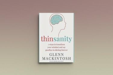 Thinsanity by Glenn Mackintosh, against a gray background