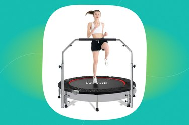 """FirstE 48"""" Foldable Fitness Trampoline"""