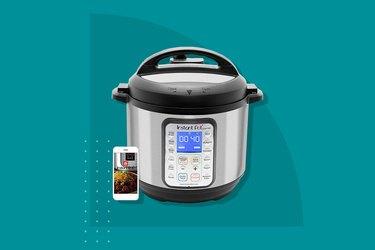 Instant Pot 6-Quart Smart WiFi 8-in-1 Electric Pressure Cooker