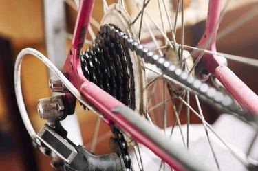 Road Bike close up