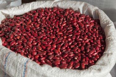 Sack with Legumes Beans Market - Saco con Legumbres Frijoles