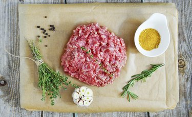 beef and pork mince meat