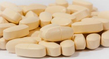 Pile of tan pills