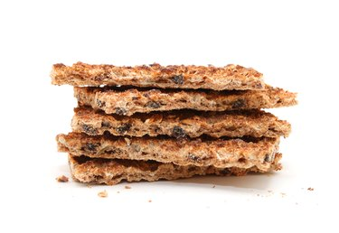 Wholegrain Rye Crispbread cracker