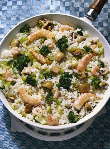 Rice with Shrimp