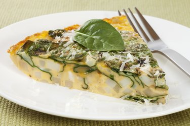 Tortilla or Frittata with Potato and Spinach
