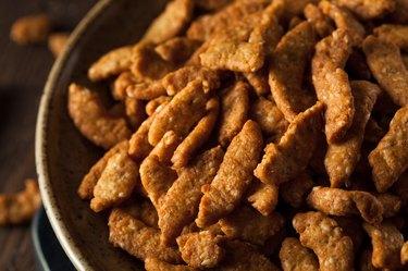 Crunchy Homemade Sesame Sticks