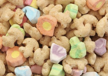 Marshmallow Cereal Background