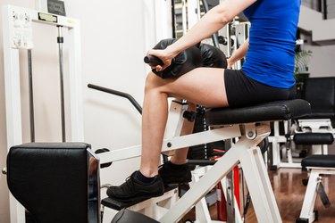 Legs training