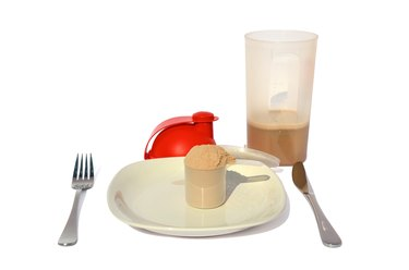 Whey meal