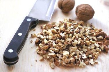 Chopped walnuts