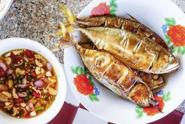 mackerel grill