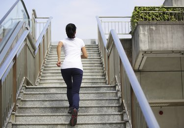 Climbing stairs can boost overall health