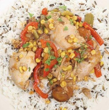 Casseroled Chicken