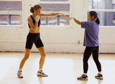Women Kick Boxing