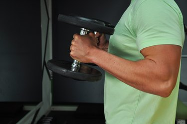 Lifting weights-Fitness