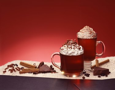 Coffee and chocolate beverage