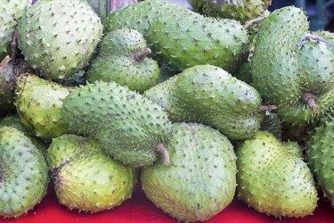 Soursop at Fruit Vendor Stall
