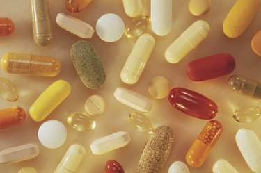 Assorted pills and capsules