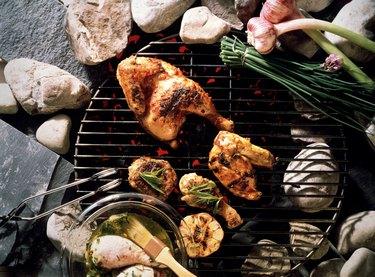 Grilling Chicken Pieces