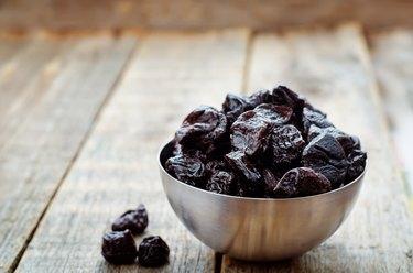 prunes in a bowl
