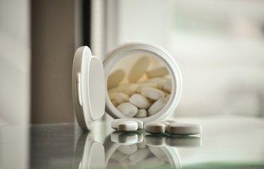pills with pill bottle
