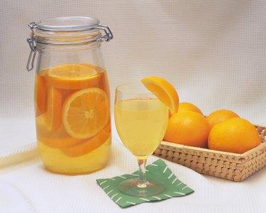 Orange Sour, High Angle View