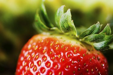 Close-up of a strawberry
