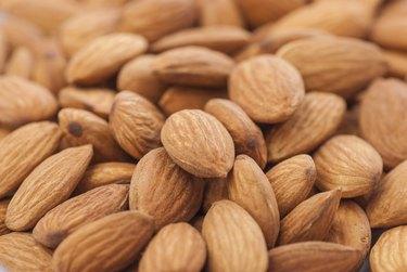 Almonds Close Up