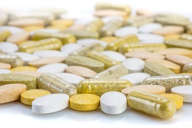 Vitamin supplements - capsules and pills