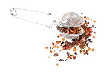 Ayrvedic Tea isolated on white