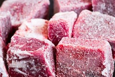 Beef frozen pieces